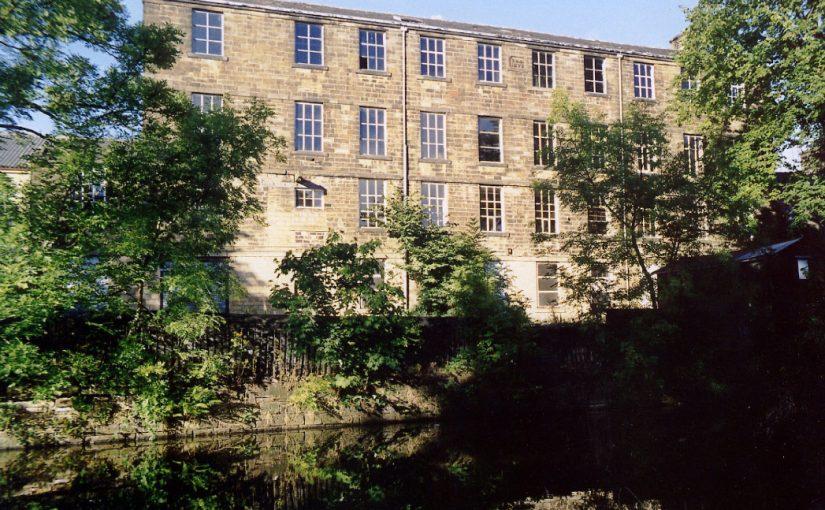 Lomeshaye Bridge Mill in Haslingden