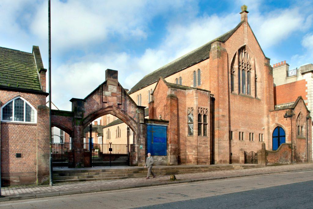 Long Street Methodist Church by Edgar Wood
